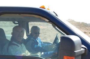 ניר בן ארי ודובי מילר (קרוב בתמונה) נפרדים הפעם